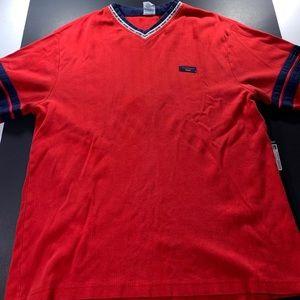 VTG. Red Xl Tommy Hilfiger Long Sleeve Shirt